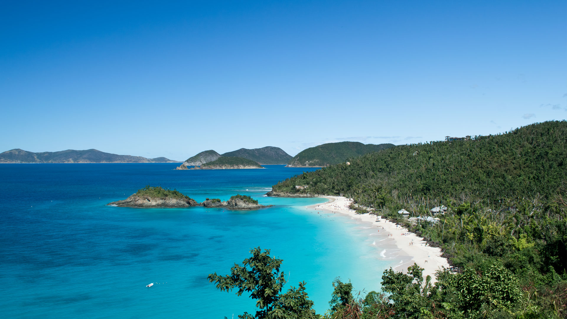 Trunk Bay, St John US Virgin Islands National Park